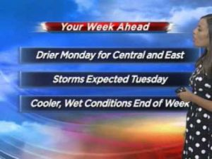 This week's weather outlook