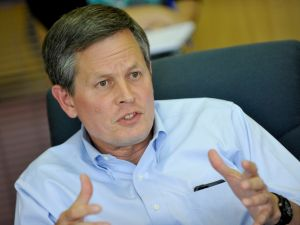 One-third of Daines' campaign funds from Montanans – a relatively high percentage