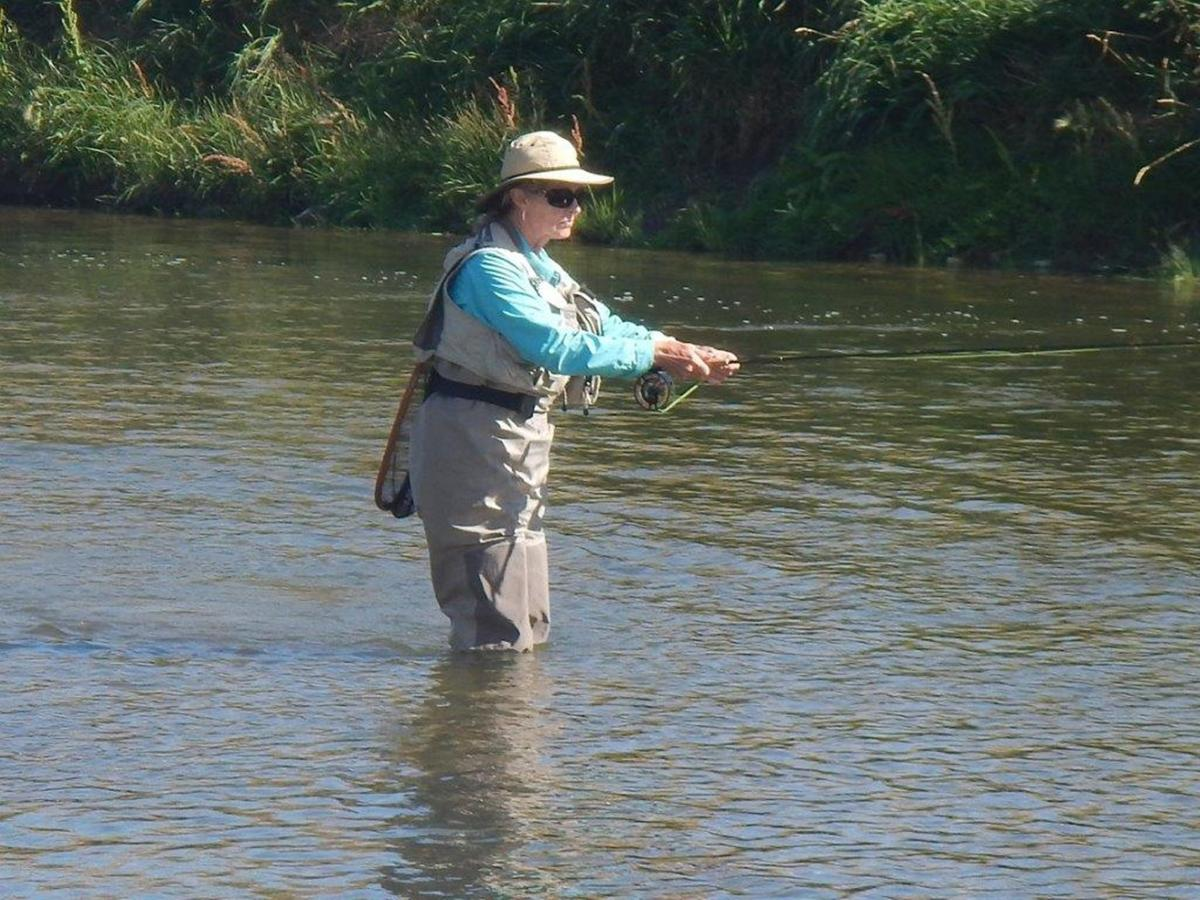 Whitlock 39 s wet fly fishing technique catches trout for Wet fly fishing