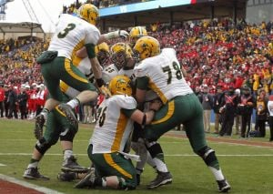 Bison win fourth straight title in thriller over Illinois State