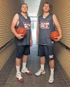 Friends since kindergarten, Big Sandy's Brumwell and Pearson have one last weekend to be teammates