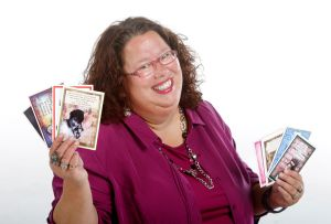 She's a card, and she makes them too: Five Minutes with Bernie Wahl