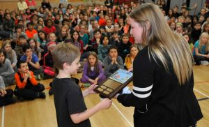 'Representing Poly Drive beautifully': Student honored for raising more than $19,500