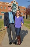 Husband, wife earn education degrees together