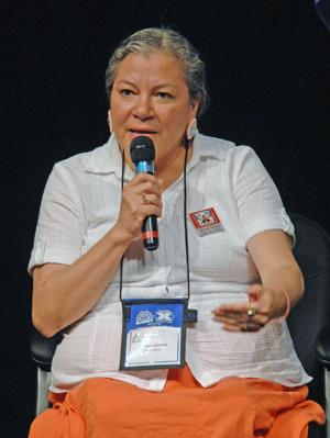 Image of Sandra Bercier, Intern Director of the Native American Training Institute