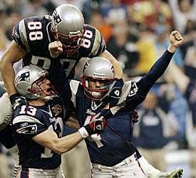 Vinatieri Kicks Another Super Bowl Winner For Patriots