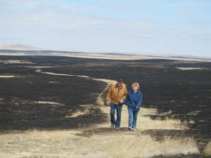 Wildfire burns 14,000 acres in northern S.D.
