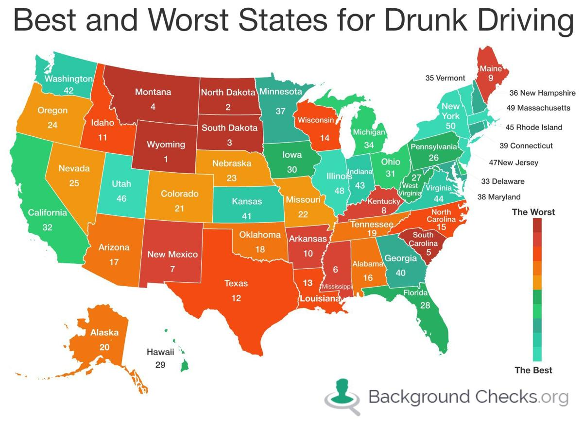 North Dakota 2nd Worst State For Dui Problems In Public