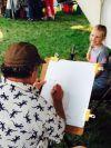 Mandan kicks off holiday celebration with art