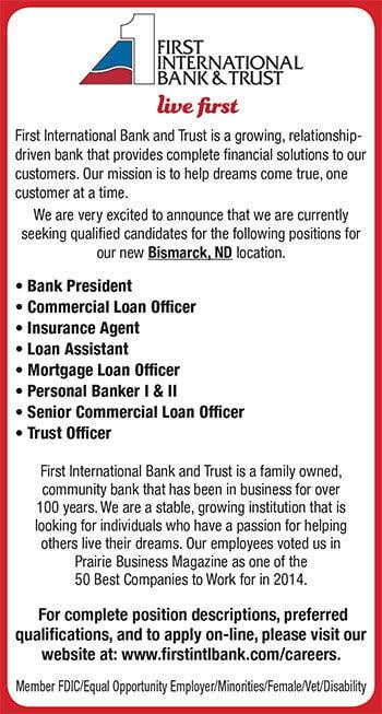 First International Bank & Trust Fargo South Branch ...
