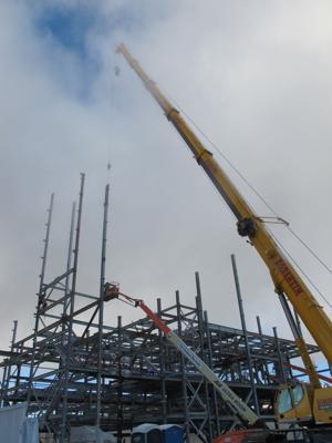 Construction of $500 million urea fertilizer plant hitting its stride
