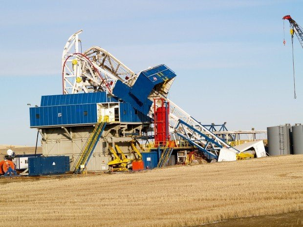 Drilling Rig Collapses Near Belfield Bakken News