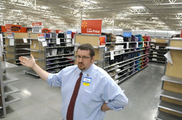 We re about ready to go over here store manager andrew