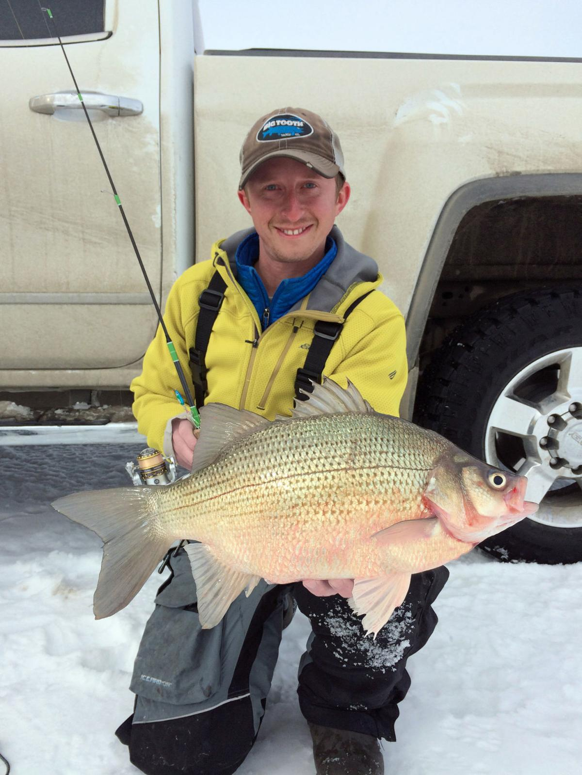 Devils lake angler catches potential world record white for State record fish