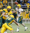 Spring game shows work needed on Bison defense