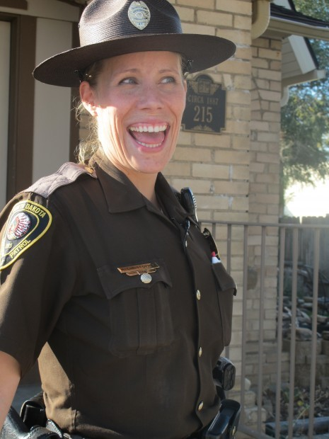 North State Auto >> N.D. Highway Patrol's Megan Christopher keeps her cool ...