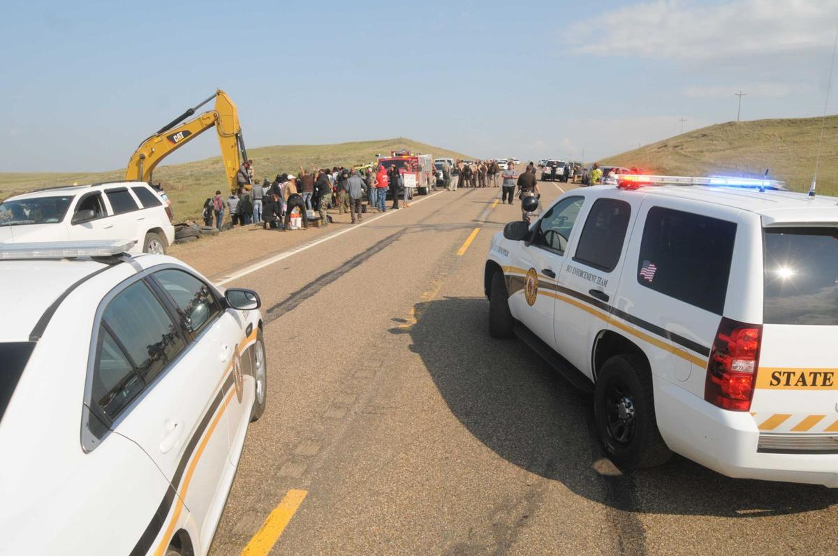 protesters disrupt second dakota access pipeline worksite north 090116 nws protest6 jpg