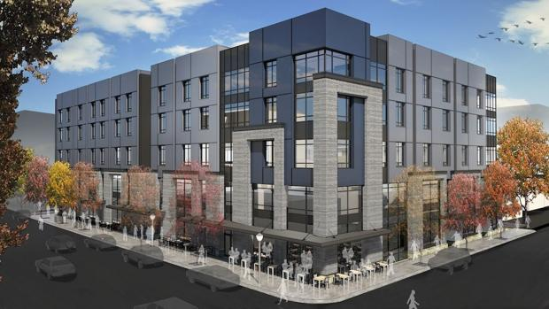 Five story building project moving forward in downtown for Cost to build a house in bozeman mt