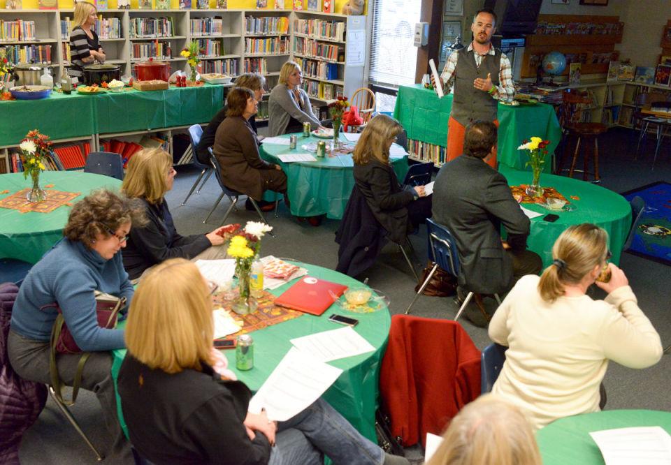 Bozeman School Board visits Hawthorne