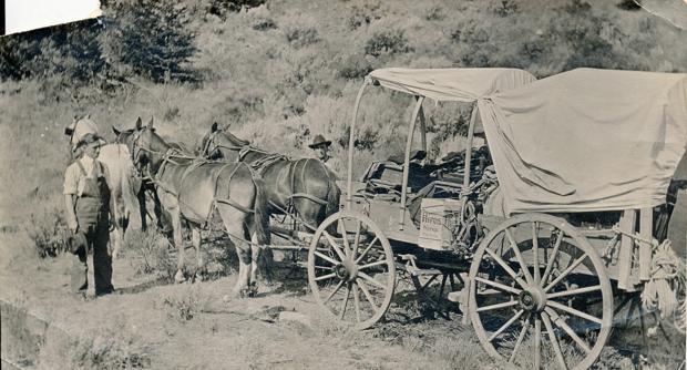 Carl Wilcoxson 1914 Yellowstone Park
