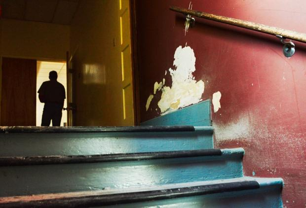 Deteriorated Willson School