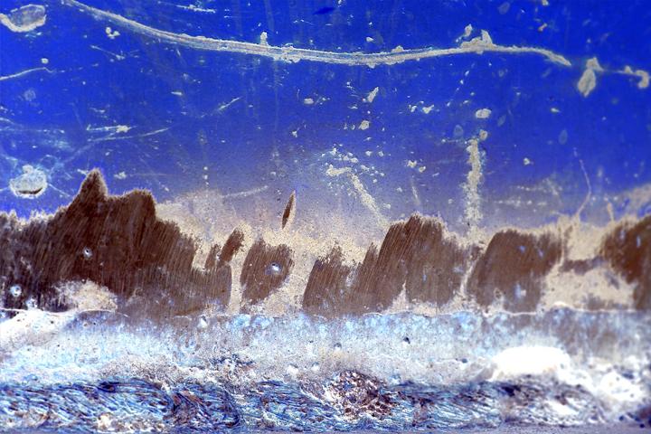 """""""Rough Sea Through a Flying Fisheye"""""""