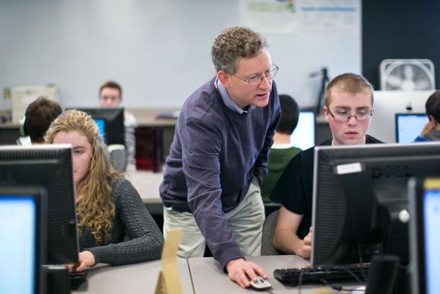 The Joy and Beauty of Computing class at Bozeman High School