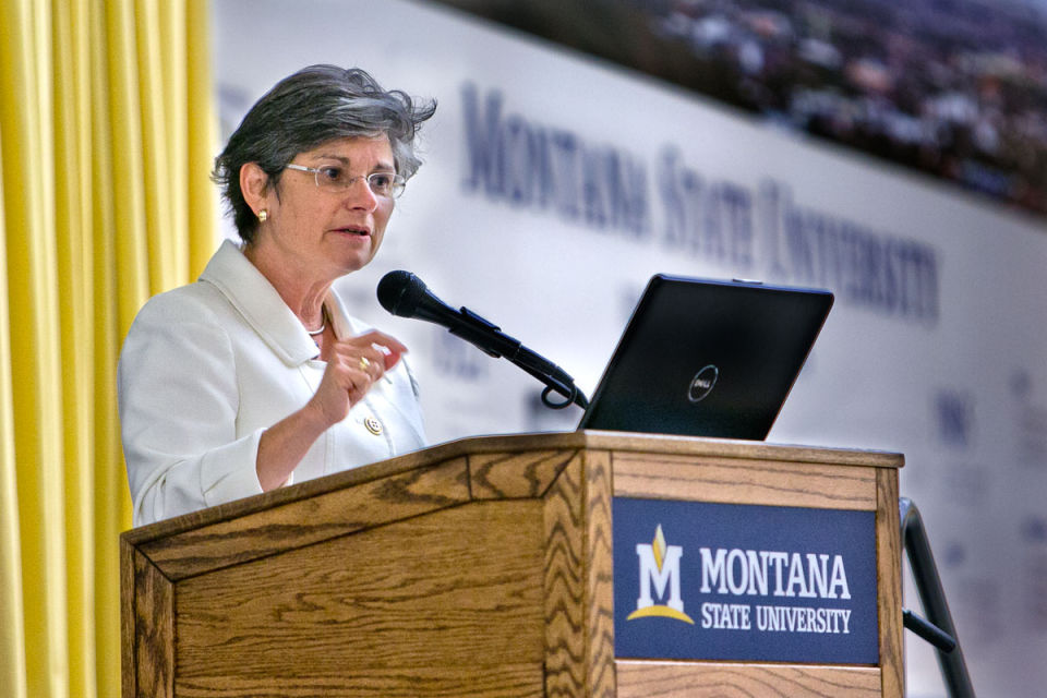 2013 Montana State University Open House and Conversation for the Campus Community