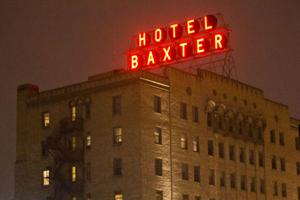 Baxter Hotel Lights Turn On