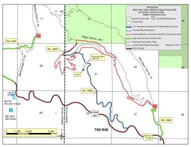 Trail swap proposal