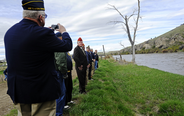 American legion national commander visits logan fishing for Gallatin fishing report