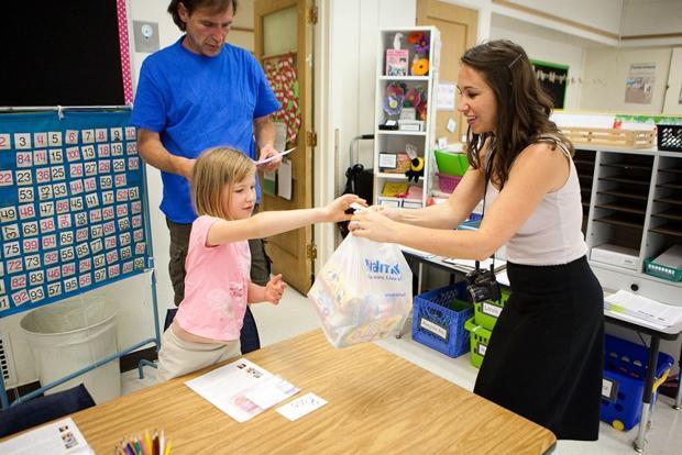 Back to School Sneak Peek at Irving Elementary School