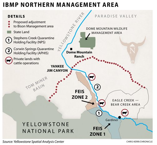 IBMP Northern Management Area map