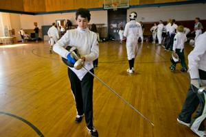 Sport Fencing Clinic at MSU