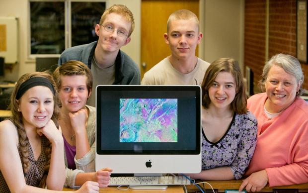 Bozeman High's Astronomy Club Analyzing Mars Data
