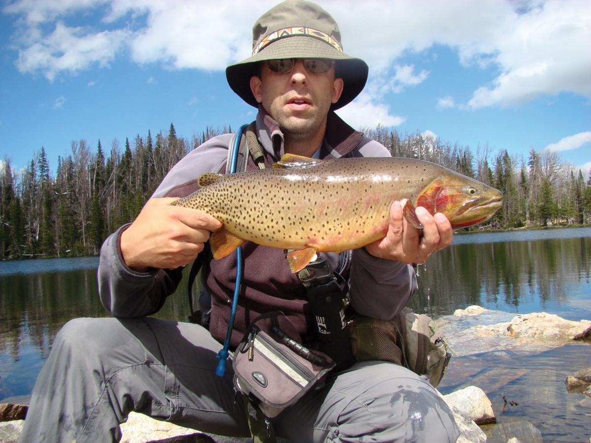 Montana 39 s great lakes high country fishing come with for Yellowstone lake fishing