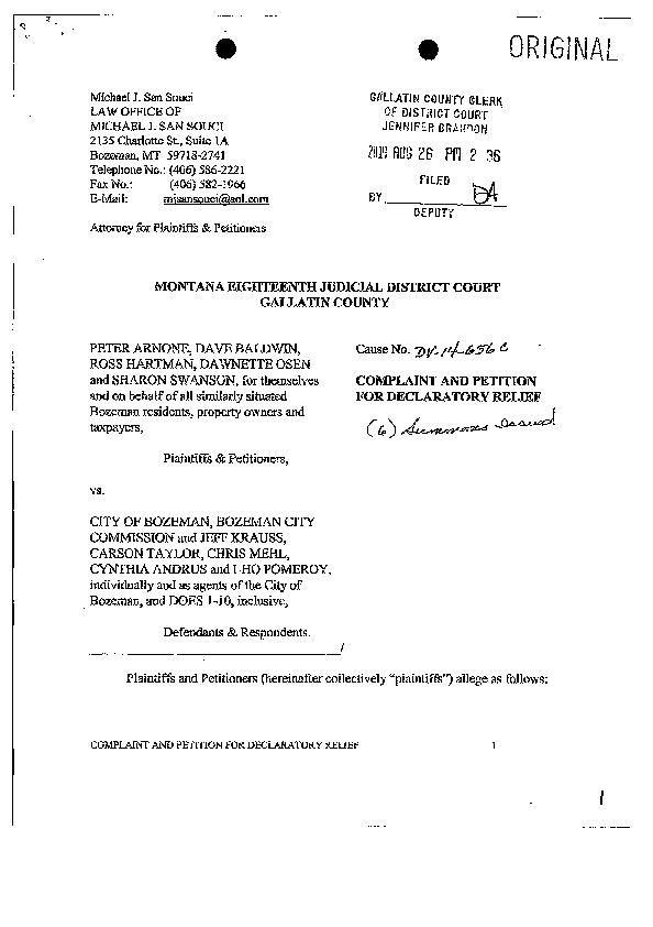 Lawsuit seeking to nullify NDO