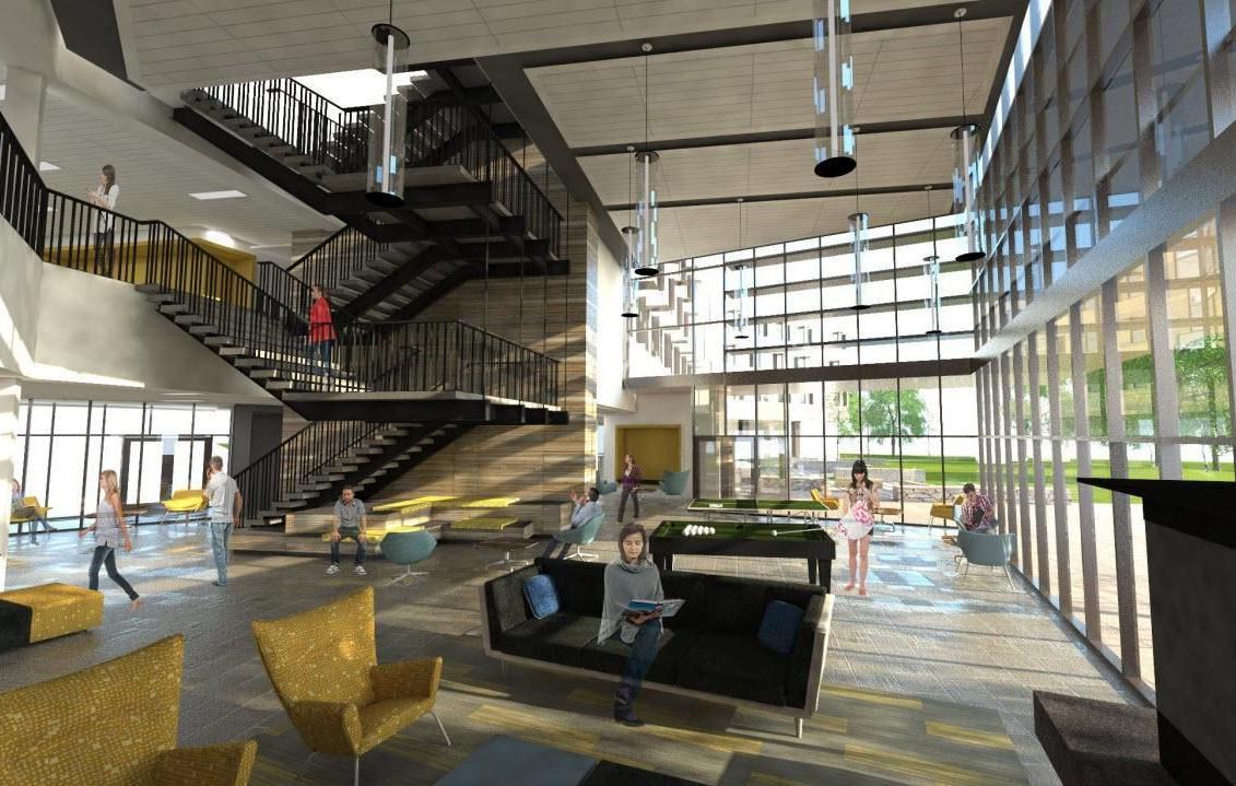 Msu S New Freshman Dorm Designed To Feel Homey Save Money
