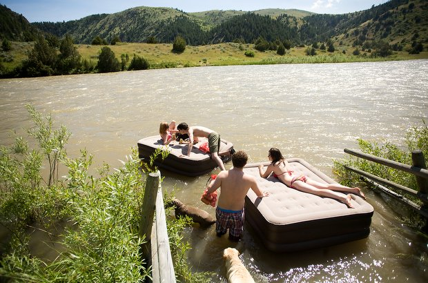 Madison River boat launches