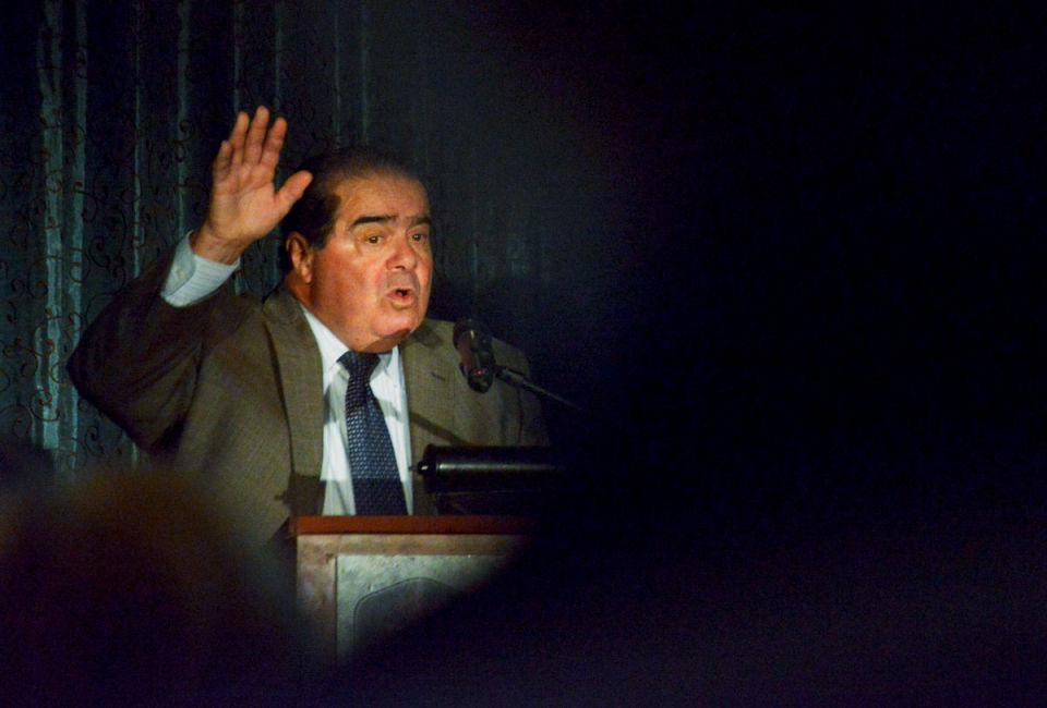 US Supreme Court Justice Antonin Scalia