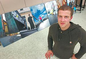 Born without legs, MSU student skateboards to adventures