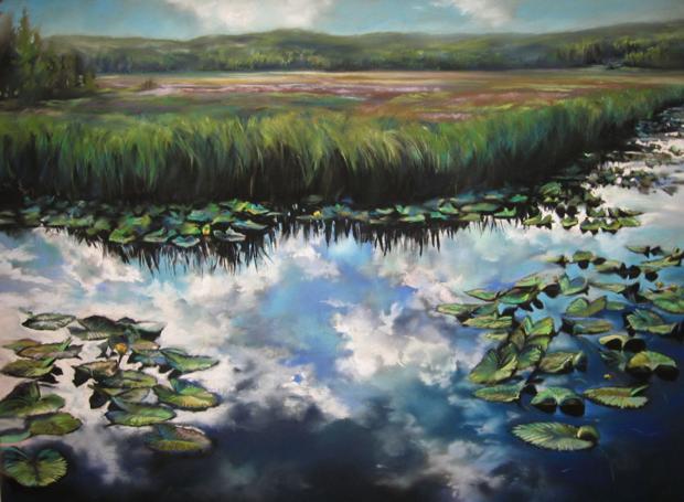 """""""Yellowstone Reflections"""" by Mimi Matsuda"""