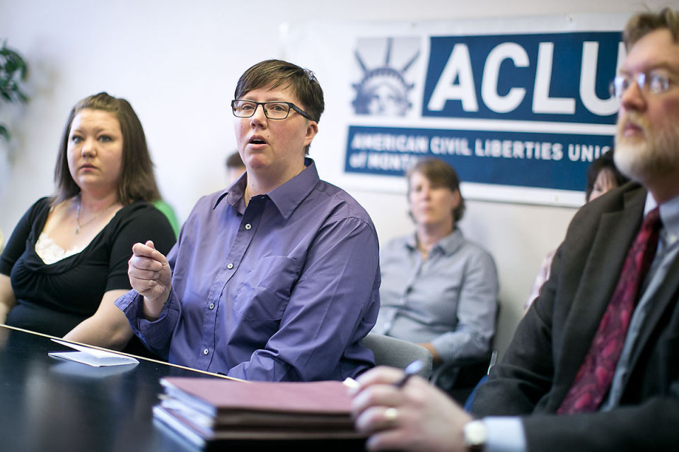 Montana ACLU Announces Lawsuit to Overturn Ban on Gay Marriage