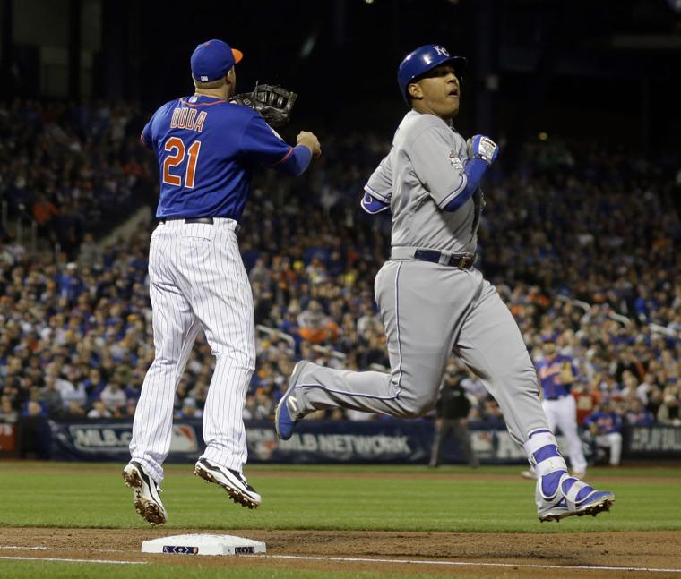 Royals Win World Series, Rally Late, Then Rout Mets In