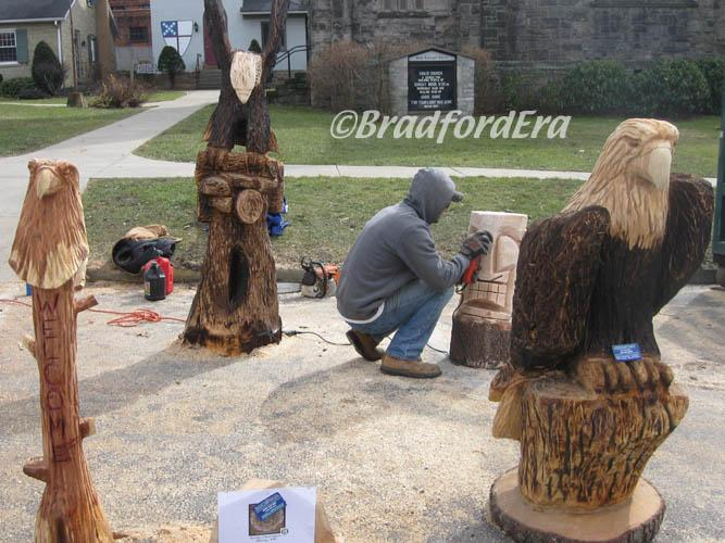 Ridgway chainsaw carving rendezvous the bradford