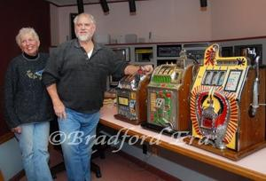 "Johnsonburg native to bring unique aspect to ""Little Chicago"" film: old-fashioned slot machines"