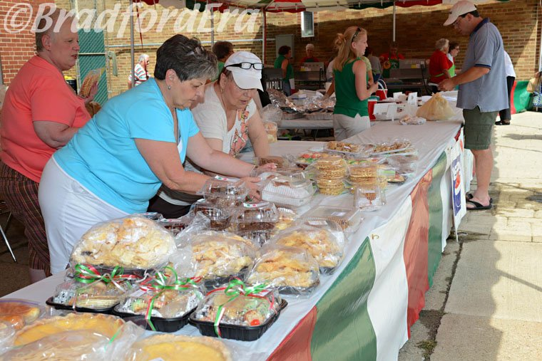 Sweets at Festa Italiana