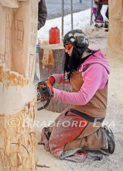 Ridgway chainsaw carving rendezvous deemed success news