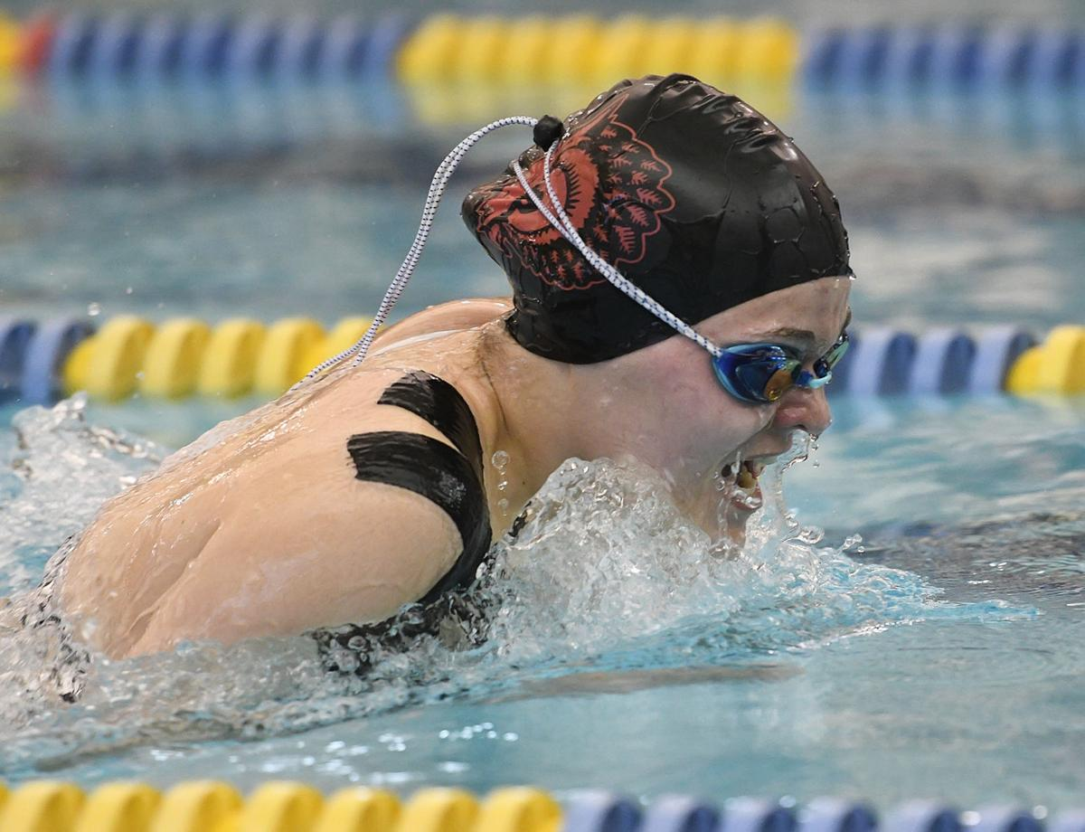 bradford swimming falls to st marys on senior night sports