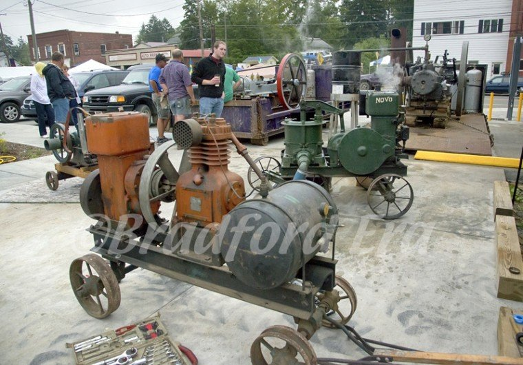 Antique Oil Field Engines